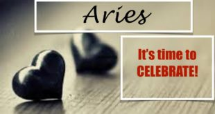 """Aries February 2020 - """"It's time to CELEBRATE"""""""
