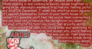 Aries - week of December 2. Tag your Aries friends! Make the most out of your we...