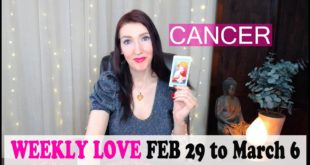 CANCER WEEKLY LOVE WOW!!! THIS IS GETTING SERIOUS!!! FEB 29 TO MARCH 6