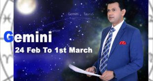 Gemini Weekly horoscope 24Feb To 1st March 2020
