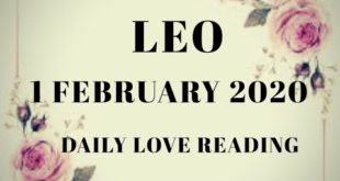 Leo daily love reading 🥰 THEY ARE WANTING TO WORK ON THE RECONCILIATION 🙀 1 FEBRUARY  2020
