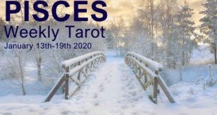 "PISCES WEEKLY TAROT READING ""SHINE THE LAMP PISCES"" January 13th-19th 2020"