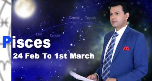 Pisces Weekly horoscope 24Feb To 1st March 2020