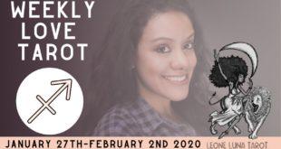 SAGITTARIUS | Fast Movement  | Weekly Love Tarot Reading 1.27-2.2.20 January 2020
