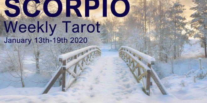 "SCORPIO WEEKLY TAROT READING  ""LOVE SCORPIO! THERE'S SOMEONE NEW"" January 13th-19th 2020"