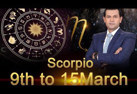 Scorpio Weekly Horoscope 9MarchTo15March 2020