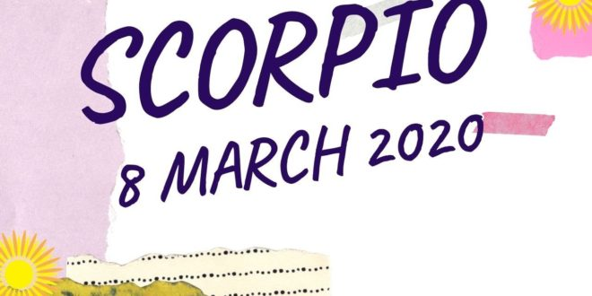 Scorpio daily love tarot reading 💗 DON'T GIVE UP SCORPIO'S  !! 💗 8 MARCH 2020