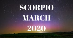 THAT wish is finally granted!! Scorpio March 2020