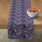 Table Runner Occult Alchemy Astrology Zodiac Witchcraft Goth Cotton Sateen