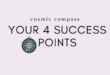 Your Cosmic Compass: The 4 Success Points of Astrology
