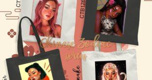 ZODIAC SERIES!!! .  Custom Totte Bag  35K/pcs • Ukuran: 30x38 • Pilihan warna To...