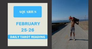 """AQUARIUS - """"FATE HAS DECIDED, YOU KNOW WHAT'S GOING TO HAPPEN"""" FEBRUARY 25-26 DAILY TAROT READING"""