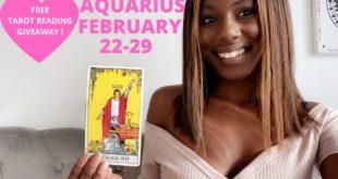 "AQUARIUS- ""NO MORE SILENCE,  I WANT YOU BACK NOW!"" FEBRUARY 22-29 2020 WEEKLY TAROT READING"