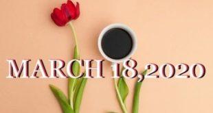 AQUARIUS/LIBRA/GEMINI ~ MARCH 18th ~ DAILY