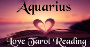 Aquarius Love Tarot Reading 💜 They want to protect you and take care of you 💜