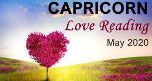 "CAPRICORN LOVE READING - MAY 2020  ""GOOD NEWS IS ON THE HORIZON CAPRICORN!""  Intuitive Tarot Reading"
