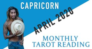 """CAPRICORN - """"THEY DIDN'T SEE THIS COMING"""" APRIL 2020 MONTHLY TAROT READING"""