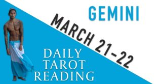 """GEMINI - """"THEY WANT TO BE WITH YOU"""" MARCH 21-22 DAILY TAROT READING"""