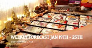 SAGITTARIUS WEEKLY FORECAST JAN 19TH   25TH FINDING A NEW PATH