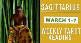 "SAGITTARIUS - ""WHAT YOU DIDN'T EXPECT HAPPENS!"" MARCH 1-7 WEEKLY TAROT READING"
