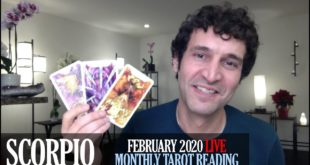 SCORPIO February 2020 Live Extended Monthly Intuitive Tarot Reading by Nicholas Ashbaugh
