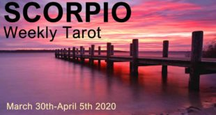 "SCORPIO WEEKLY TAROT READING  ""GREEN LIGHT TO GO SCORPIO! GOOD FORTUNE"" March 30th-April 5th 2020"