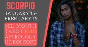 """SCORPIO - """"WHAT YOU MANIFESTED IS HAPPENING SLOW DOWN"""" JANUARY 2020 MID MONTH TAROT/HOROSCOPE"""