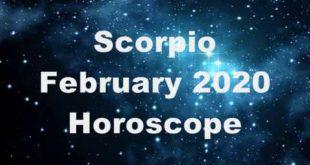 Scorpio February 2020 Horoscope prediction