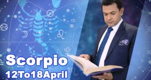 Scorpio Weekly Horoscope 12April To18April 2020