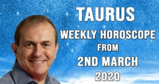 Taurus Weekly Horoscope from 2nd March 2020