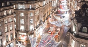 aries lover ... The lights are on, and The Spirit Of Christmas is back on Regent...