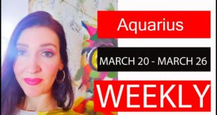 AQUARIUS WEEKLY LOVE ARE YOU READY FOR THIS SURPRISING MESSAGE!!! MARCH 20 TO 26
