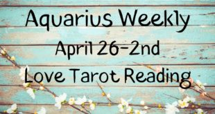 Aquarius Weekly 💗~ YOU vs. THEM ~ April 26-2nd Love Tarot Reading