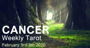 """CANCER WEEKLY TAROT  """"NEW BEGINNINGS CANCER!""""  February 3rd-9th 2020"""