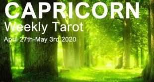 "CAPRICORN WEEKLY TAROT READING ""HERE COMES THE SUN CAPRICORN!""  April 27th-May 3rd 2020 Forecast"