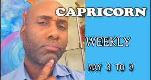 CAPRICORN WEEKLY THIS WILL OPEN YOUR EYES AND SHOCK YOU!!! MAY 3 TO 9
