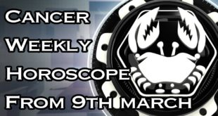 Cancer Weekly Horoscope From 9th March 2020 In Hindi | Preview