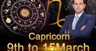 Capricorn Weekly Horoscope 9MarchTo15March 2020