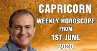 Capricorn Weekly Horoscope from 1st June 2020