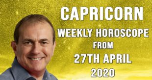 Capricorn Weekly Horoscope from 27th April 2020