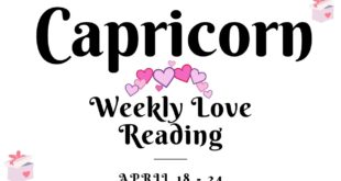 Capricorn weekly love tarot reading 💖 THEY FEEL AND KNOW THAT YOU DESERVE BETTER !! 💖 18 - 24 APR