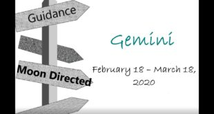 GEMINI Monthly Feb 18 - Mar 18, 2020 YOU ARE ON TRACK FOR A FATED MEETING
