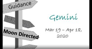 GEMINI Monthly March 19 - April 18, 2020 SPIRIT IS ASKING FOR YOUR PARTICIPATION  (Please say YES)