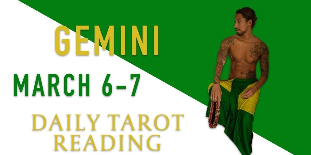"GEMINI - ""FACE THE TRUTH, YOU ARE IN LOVE"" MARCH 6-7 DAILY TAROT READING"