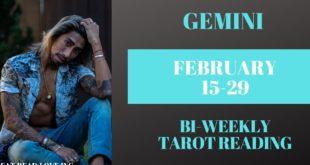 "GEMINI - ""YOU DESERVE THIS HAPPINESS, WISH GRANTED"" FEBRUARY 15-29 BI-WEEKLY TAROT READING"