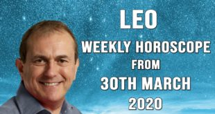 Leo Weekly Horoscope from 30th March 2020