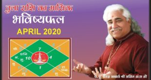 Libra - Monthly Astro- Predictions for-April - 2020 Analysis By Aacharya Anil Vats ji