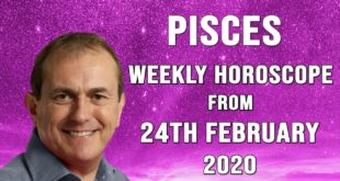 Pisces Weekly Horoscope from 24th February 2020