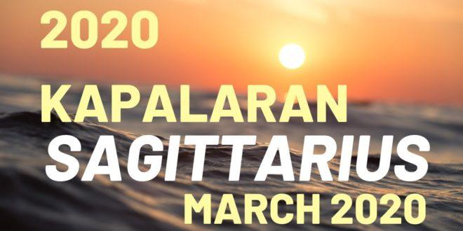 SAGITTARIUS 2020 KAPALARAN TAGALOG HOROSCOPE TAROT Reading - March 2020