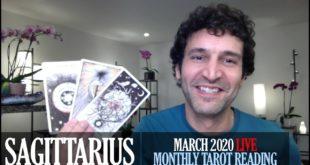 SAGITTARIUS March 2020 Live Extended Intuitive Tarot Reading & Meditation by Nicholas Ashbaugh